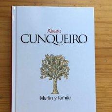 Libros de segunda mano: LIBRO MERLIN Y FAMILIA. ALVARO CUNQUEIRO. A ESTRENAR. Lote 194922788