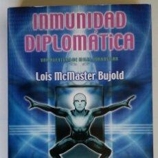 Libros de segunda mano: INMUNIDAD DIPLOMATICA. UNA AVENTURA DE MILES VORKOSIGAN - LOIS MCMASTER BUJOLD; NOVA. Lote 194951467
