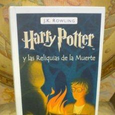 Libros de segunda mano: HARRY POTTER Y LAS RELIQUIAS DE LA MUERTE, DE J.K. ROWLING. SALAMANDRA, 1ª EDICIÓN 2.008.. Lote 194973965