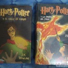 Libros de segunda mano: HARRY POTTER PRECIOSO LOTE DE 2 LIBROS PASTA DURA. CÍRCULO DE LECTORES. PRECINTADOS.. Lote 194979768