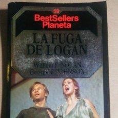 Libros de segunda mano: LA FUGA DE LOGAN. WILLIAM F. NOLAN. GEORGE C. JOHNSON. Lote 195014142