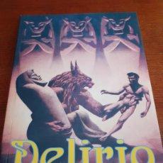Libros de segunda mano: REVISTA DELIRIO 9 CIENCIA FICCIÓN Y FANTASÍA - LA BIBLIOTECA DEL LABERINTO 2012. Lote 195022791