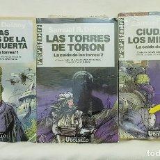 Libros de segunda mano: TRILOGÍA: LA CAÍDA DE LAS TORRES – SAMUEL R. DELANY . Lote 195091098