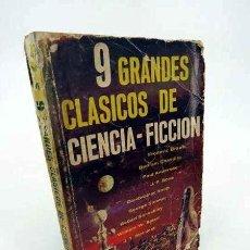 Libros de segunda mano: COLECCIÓN HALCÓN 48. 9 GRANDES CLÁSICOS DE CIENCIA FICCIÓN. DIANA, 1966. Lote 195123417