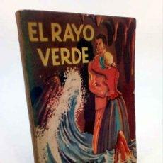 Libros de segunda mano: NARRACIONES RECREATIVAS 103. EL RAYO VERDE (JULIO VERNE) DIFUSIÓN, 1951. Lote 195123432