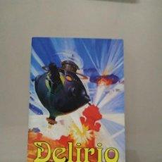 Livres d'occasion: REVISTA DELIRIO Nº3 LA BIBLIOTECA DEL LABERINTO. Lote 208109852