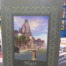 Libros de segunda mano: MYST - EL LIBRO DE ATRUS - EL LIBRO DE TI'ANA - EL LIBRO DE D'NI - CÍRCULO DE LECTORES FANTASÍA . Lote 195218870