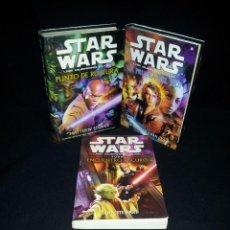 Libros de segunda mano: STAR WARS - LAS GUERRAS CLON (3 LIBROS) - VARIOS AUTORES, LEER DESCRIPCION . Lote 195249721