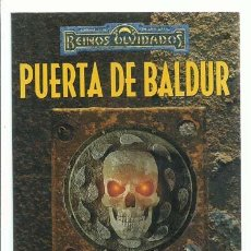 Livres d'occasion: REINOS OLVIDADOS: PUERTA DE BALDUR, 1999, TIMUN MAS, IMPECABLE. COLECCIÓN A.T.. Lote 195326471