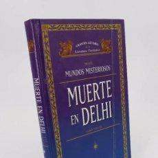 Libros de segunda mano: GRANDES AUTORES DE LITERATURA FANTÁSTICA. SERIE MUNDOS MISTERIOSOS. MUERTE EN DELHI (GARY GYGAX). Lote 195353022