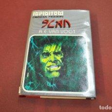 Libros de segunda mano: SLAN - VAN VOGT - COLECCIÓN INFINITUM 1976 - CFB. Lote 195367951