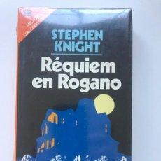 Libros de segunda mano: REQUIEM EN ROGANO. STEPHEN KNIGHT. NUEVO . Lote 195405590