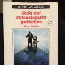 Libros de segunda mano: DOUGLAS ADAMS , GUIA DEL AUTOESTOPISTA GALACTICO . EDICION DEFINITIVA , ANAGRAMA. Lote 195407248