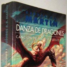 Libros de segunda mano: DANZA DE DRAGONES 1 - CANCION DE HIELO Y FUEGO 5 - GEORGE R.R.MARTIN. Lote 195468698