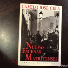 Libros de segunda mano: NUEVAS ESCENAS MATRITENSES. CAMILO JOSÉ CELA. Lote 195525157