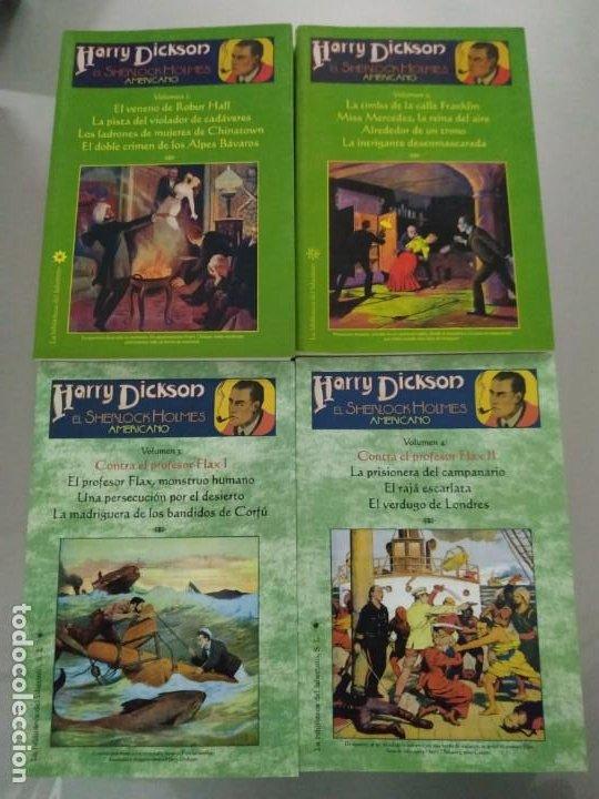 HARRY DICKSON COMPLETA EN 4 VOLÚMENES. LA BIBLIOTECA DEL LABERINTO. (Libros de Segunda Mano (posteriores a 1936) - Literatura - Narrativa - Ciencia Ficción y Fantasía)