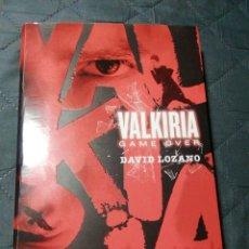 Libros de segunda mano: VALKIRIA GAME OVER. DAVID LOZANO. Lote 197591917