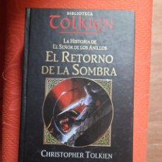 Livres d'occasion: EL RETORNO DE LA SOMBRA - C. TOLKIEN (HISTORIA SEÑOR ANILLOS). Lote 197891655