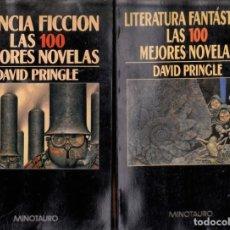 Libros de segunda mano: CIENCIA FICCIÓN Y LITERATURA FANTÁSTICA. LAS 100 MEJORES NOVELAS - DAVID PRINGLE - MINOTAURO. Lote 198388252