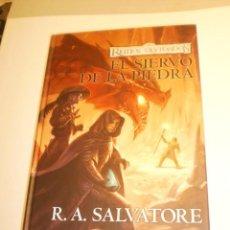 Libros de segunda mano: SALVARORE. REINOS OLVIDADOS EL SIERVO DE LA PIEDRA. TIMUNMAS 2006 318 PÁG (SEMINUEVO). Lote 198646426