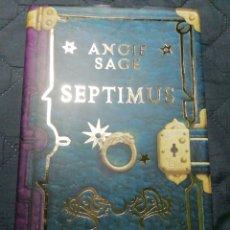 Libros de segunda mano: SEPTIMUS. ANGIE SAGE. TAPA DURA. Lote 199112787