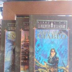 Livres d'occasion: LA MALDICIÓN DE LA SANGRE - TRILOGÍA - GHERBOD FLEMING - VAMPIRO - LA MASCARADA . Lote 199920186