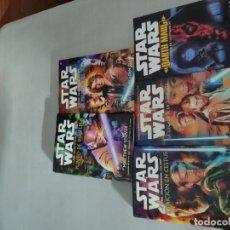 Libros de segunda mano: COLECCION DE 5 LIBROS DE STAR WARS LUCAS FILM. Lote 200400145