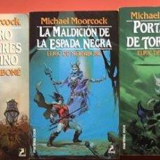Libros de segunda mano: 4 TOMOS - ELRIC DE MELNIBONE - MARTÍNEZ ROCA - GRAN FANTASY. Lote 200570250