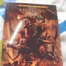 Libros de segunda mano: NOVELA FANTÁSTICA REINO BALH. Lote 201189303