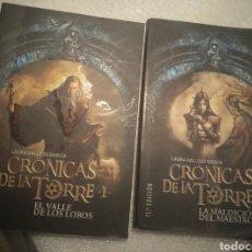 Libros de segunda mano: LAS CRÓNICAS DE LA TORRE I Y II. LAURA GALLEGO GARCÍA. Lote 201918068