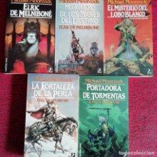 Libros de segunda mano: ELRIC DE MELNIBONE - 5 TITULOS - MARTINEZ ROCA FANTASY . Lote 201963231