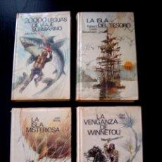 Libros de segunda mano: LOTE DE CUATRO NOVELAS JUVENILES ANTIGUAS - CÍRCULO DE LECTORES. Lote 145069154