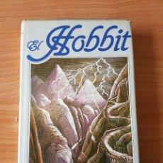 Libros de segunda mano: EL HOBBIT, J.R.R. TOLKIEN PRIMERA EDICION ESPAÑA. Lote 203017743