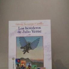 Livres d'occasion: LOS HEREDEROS DE JULIO VERNE - GABRIEL BERMÚDEZ CASTILLO. LA BIBLIOTECA DEL LABERINTO. Lote 203158803