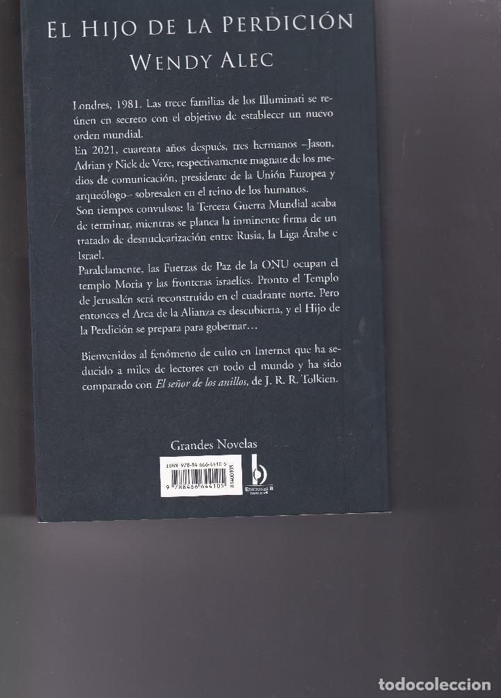 Libros de segunda mano: EL HIJO DE LA PERDICIÓN - Foto 2 - 203217705