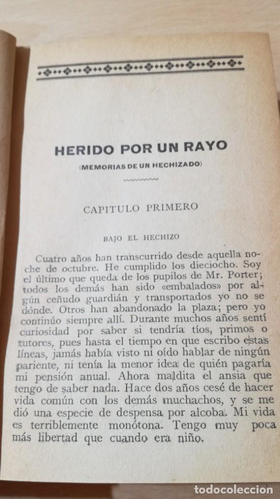 Libros de segunda mano: HERIDO POR UN RAYO - HUGO CONWAY - MAUCCI - MEMORIAS DE UN HECHIZADO / Q404 - Foto 6 - 203290061