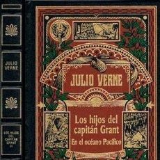 Libros de segunda mano: JULIO VERNE, LOS HIJOS DEL CAPITAN GRANT EN EL OCEANO PACIFICO, CON ILUSTRACIONES, COMO NUEVO. Lote 203498277