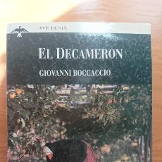 Libros de segunda mano: EL DECAMERON – GIOVANNI BOCCACCIO - PLAZA & JANES EDITORES S.A. AVE FENIX - BOLSILLO TAPA BLANDA CON. Lote 204820391