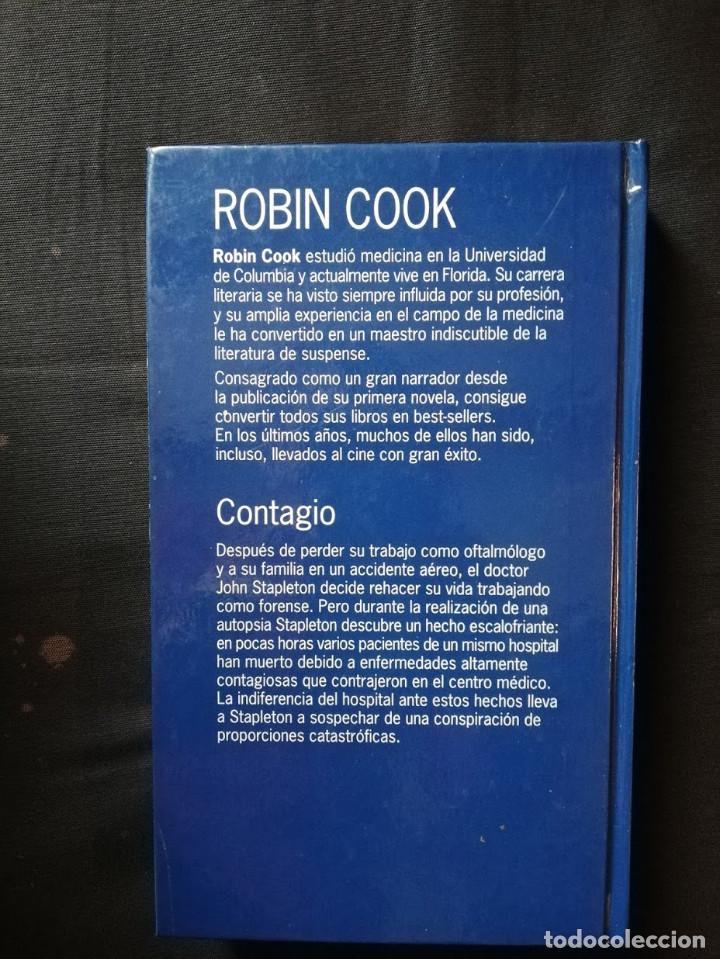 Libros de segunda mano: CONTAGIO - ROBIN COOK - Foto 2 - 205183280