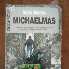 Libros de segunda mano: MICHAELMAS (ALGIS BUDRYS) CIENCIA FICCION ULTRAMAR Nº 102 - NUEVO PRECINTADO - SUB01J. Lote 205314790