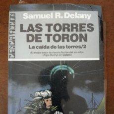 Libros de segunda mano: LAS TORRES DE TORON LA CAIDA DE LAS TORRES 2 - CIENCIA FICCION ULTRAMAR Nº 52 - COMO NUEVO - SUB01J. Lote 205322543