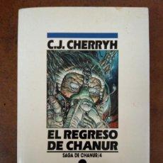 Libros de segunda mano: EL REGRESO DE CHANUR (C. J. CHERRYH) COL. NOVA CIENCIA FICCION Nº 23 - EDICIONES B - SUB01J. Lote 205377620