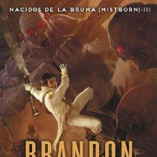 Libros de segunda mano: EL HÉROE DE LAS ERAS (NACIDOS DE LA BRUMA [MISTBORN] 3). Lote 205525912