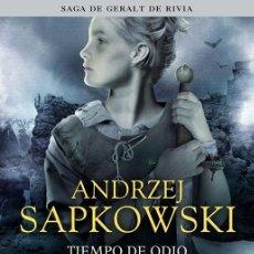Libros de segunda mano: TIEMPO DE ODIO. - SAPKOWSKI, ANDRZEJ.. Lote 205613050