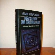 Libros de segunda mano: HACEDOR DE ESTRELLAS - OLAF STAPLEDON - MINOTAURO - PRÓLOGO DE BORGES. Lote 205708155