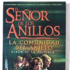 Livros em segunda mão: JUDE FISHER / TOLKIEN : EL SEÑOR DE LOS ANILLOS I - ÁLBUM DE LA PELÍCULA (MINOTAURO, 2001) TAPA DURA. Lote 205736613