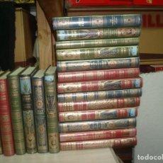 Libros de segunda mano: JULIO VERNE COLECCION HETZEL RBA 2008 LOTE DE 17 TITULOS VER LISTADO. Lote 206301201