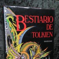 Libros de segunda mano: BESTIARIO DE TOLKIEN - DAVID DAY - TIMUN MAS - 1989 - ILUSTRADO -. Lote 206417896