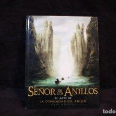Libros de segunda mano: LIBRO ARTE EL SEÑOR DE LOS ANILLOS GRAN FORMATO LORD OF RINGS. Lote 206929087