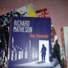 Libros de segunda mano: SOY LEYENDA. Lote 207352977